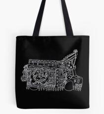 Solitary Truck - Truck Art Tote Bag