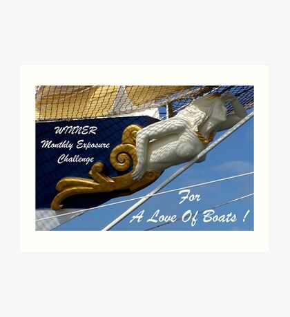 For a Love Of Boats/banner Art Print