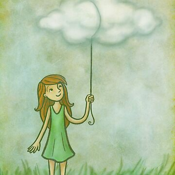 Cloud on a string by Eenuh