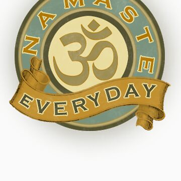 Namaste Everyday by Mare7221