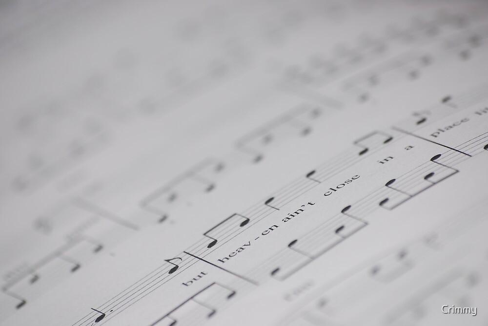Written music by Crimmy