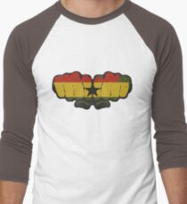 Ghana! Men's Baseball ¾ T-Shirt