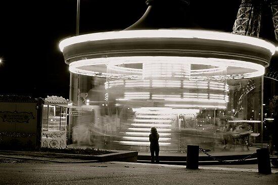 Parisian Carousel by Daniel Pinnegar