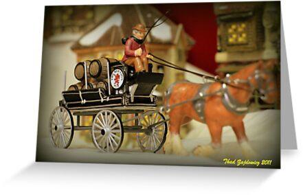 Beer Wagon by Thaddeus Zajdowicz