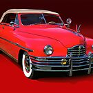 1948 Packard Super 8 Victoria Convertible by DaveKoontz