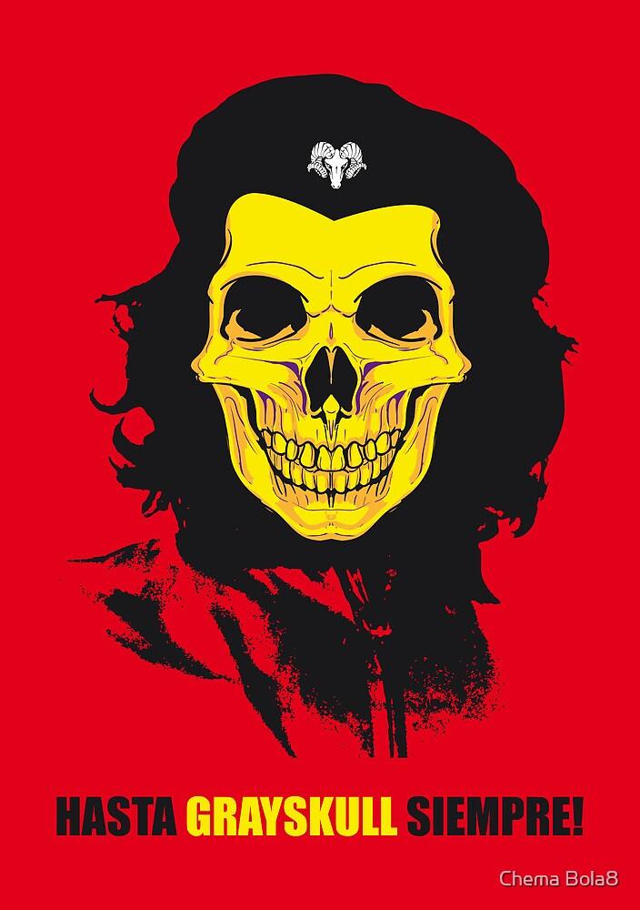 Viva Skeletor! by Chema Bola8