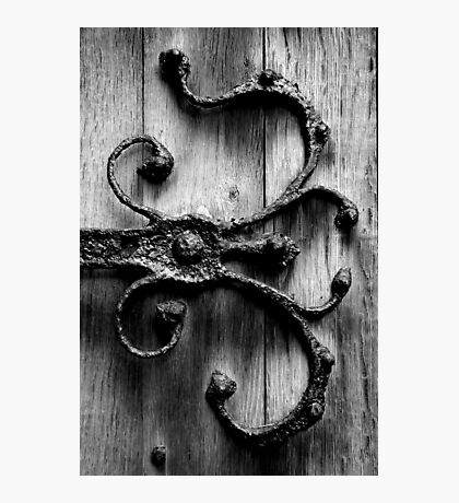 Ironwork Church Door - England Photographic Print