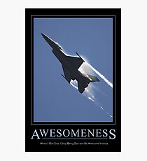 Awesomeness Photographic Print