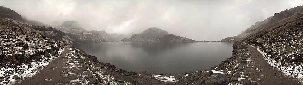 Gosainkunda lake panorama by NatureBeauty