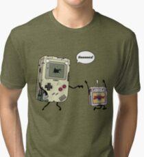 Don't Get 8bit! Tri-blend T-Shirt