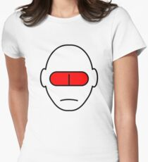 THX-1138 red pill Women's Fitted T-Shirt