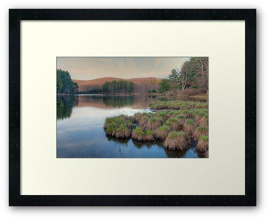 Lake Nawahunta - Harriman Park by JHRphotoART