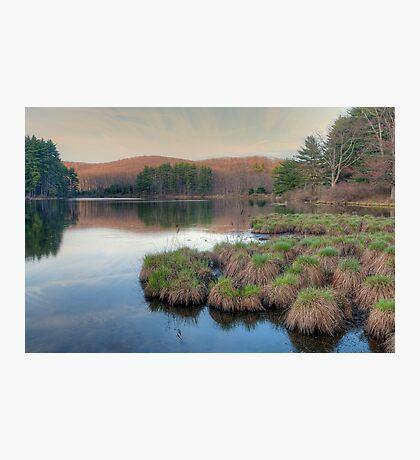 Lake Nawahunta - Harriman Park Photographic Print