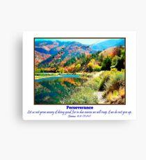 Logan Canyon and Perseverance Leinwanddruck