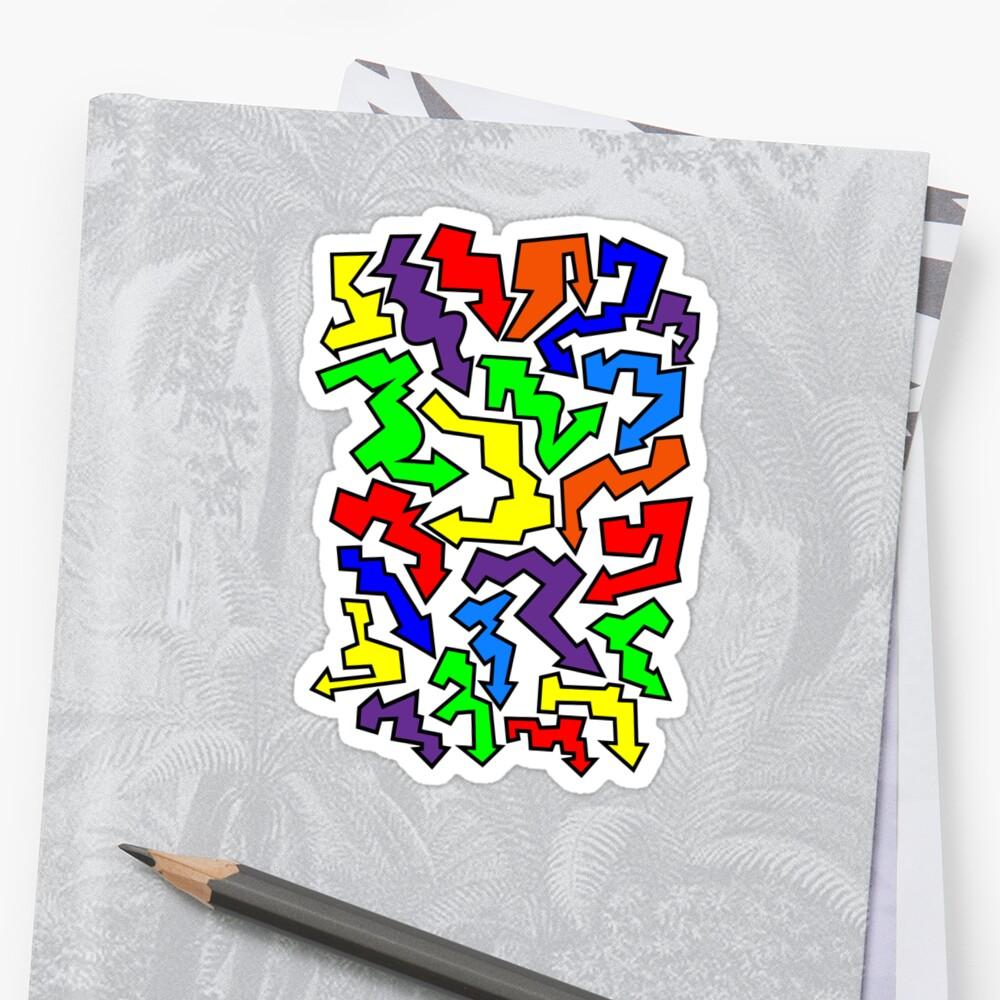 (Arrows) Colourful by arrowmandesigns