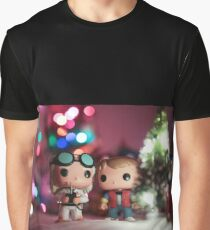 Christmas with Marty and Doc Graphic T-Shirt