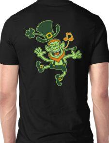 Irish Leprechaun Dancing and Singing Unisex T-Shirt
