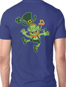 Irish Leprechaun Dancing and Singing Unisex T-Shirt