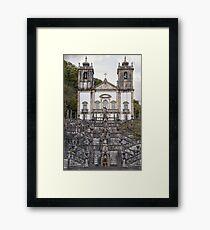 Sanctuario da Nossa Senhora da Peneda, Portugal Framed Print