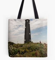 The Old Lighthouse Dungeness Tote Bag