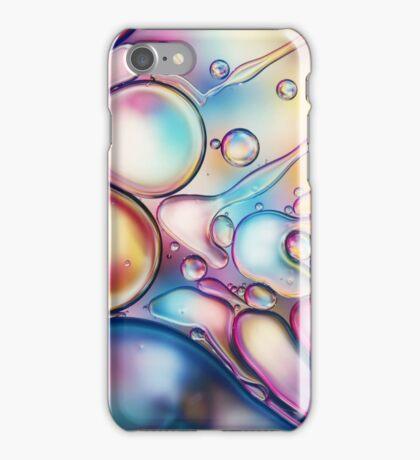 Rainbow Bubble Splash iPhone Case/Skin