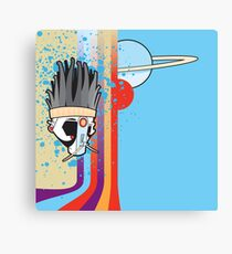 shaman blue Canvas Print