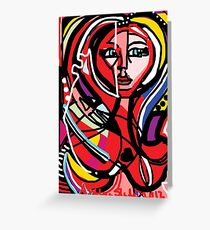 Eclectic Greeting Card