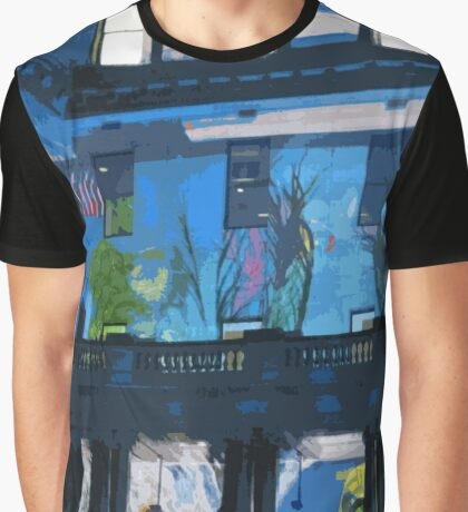 Fish in the Clocktower Graphic T-Shirt