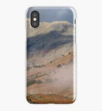 The Langdale Pikes Cumbria iPhone Case