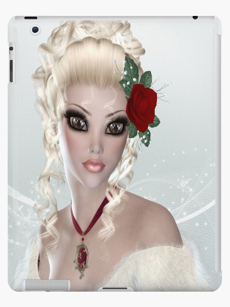 Blond Woman iPad Case by AdrianeJ