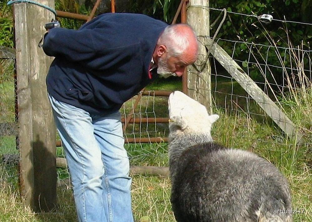 A Scottish Sheepish Secret? by artwhiz47