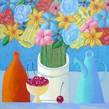 Cherries by lanawynne