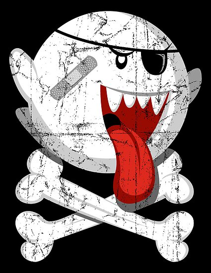 Pirate Boo! by freeagent08