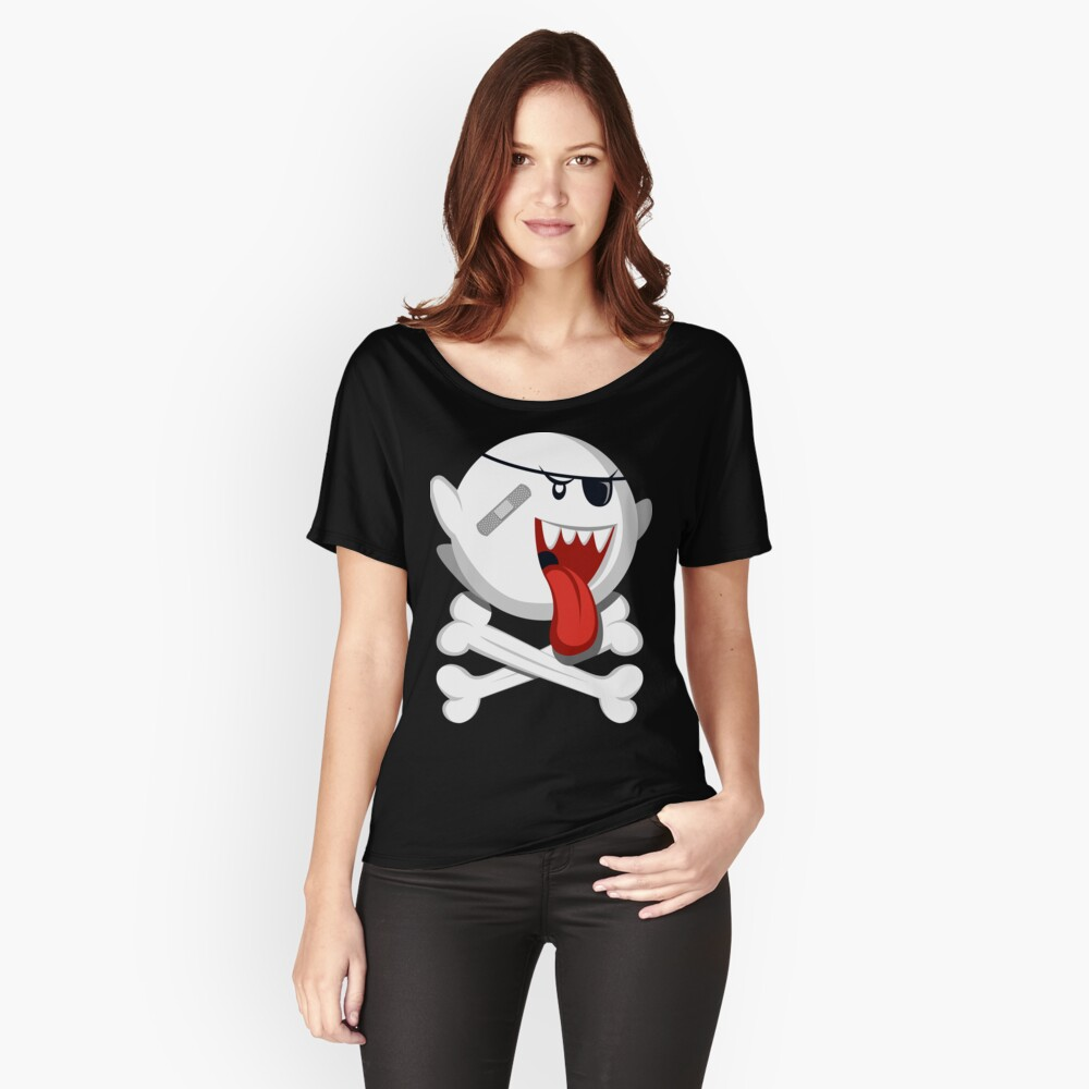 Pirate Boo! Women's Relaxed Fit T-Shirt Front