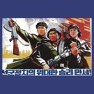 North Korean Propaganda - Troops by Tim Topping