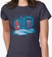Big Bad Wolf Women's Fitted T-Shirt