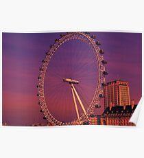 London Eye, London, UK Poster