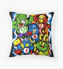 The Care Initiative  Throw Pillow