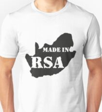 BORN IN THE RSA Unisex T-Shirt