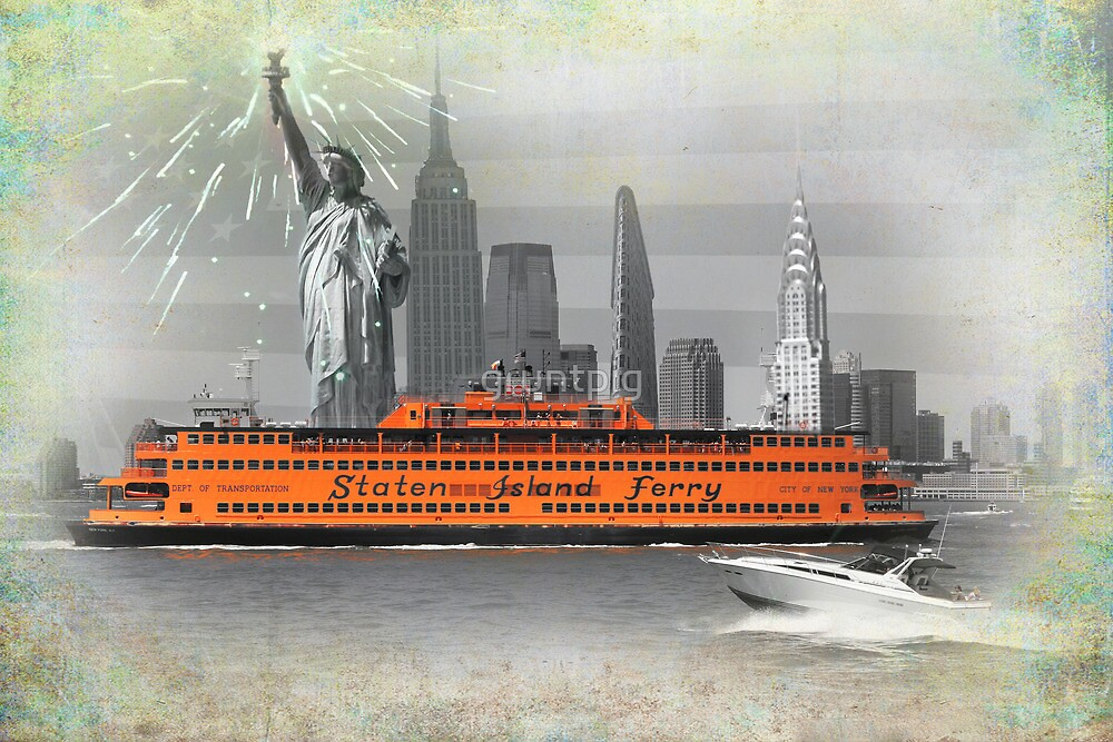 new york icons by gruntpig