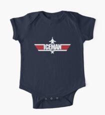 Custom Top Gun Style - Iceman Kids Clothes