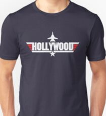 Custom Top Gun Style - Hollywood T-Shirt