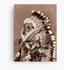 River Chief. Canvas Print