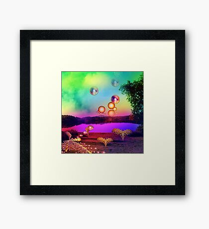 A magical place Framed Print