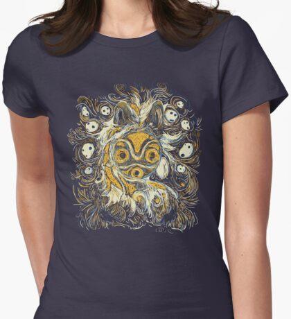Impressionist Mononoke Womens Fitted T-Shirt