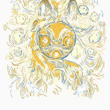 Impressionist Mononoke by JKTees