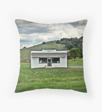 Frog Level Station Throw Pillow