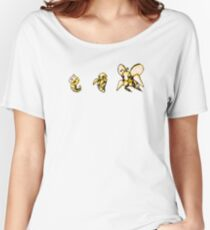 Weedle evolution  Women's Relaxed Fit T-Shirt