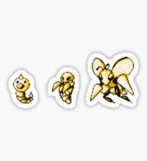 Weedle evolution  Sticker