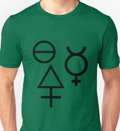 The Three Primes of Alchemy T-Shirt